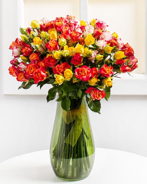 Spray roses  (min. order 7000 Ft)