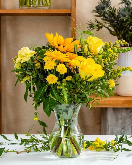Napsugár - A virágkötő fantáziája